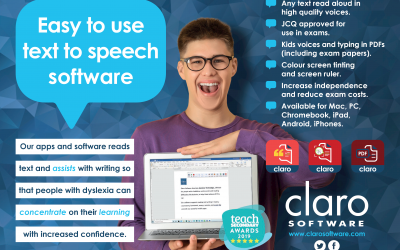 ClaroRead breaking down the barriers for dyslexic readers